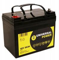Universal Power 12-36 12V 36Ah AGM Rasenmäher Akku