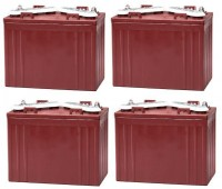 Ersatzakku Set Trojan Batterien für Club Car Precedent professional 48V