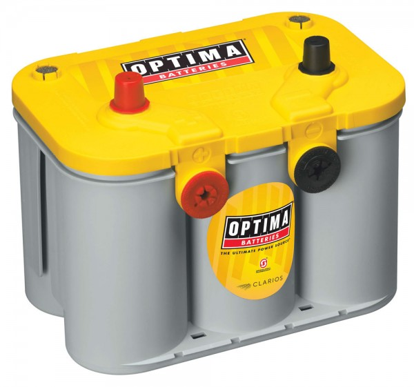 Optima Yellow Top YT U - 4.2, 12V 55Ah, AGM Zyklenfest, Spiralcell Technologie