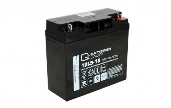 Ersatzakku für Best Power Ferrups 500VA / Markenakku mit VdS