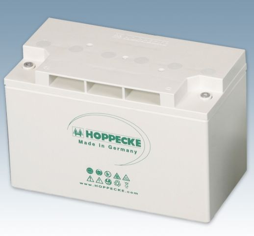 Hoppecke power.com HC 125300 12V 143Ah (C10) verschlossene Bleibatterie VRLA für USV