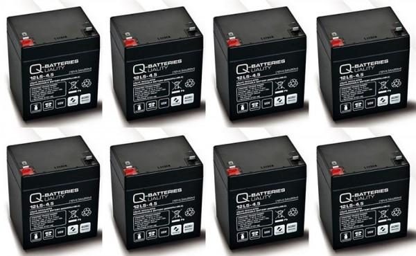 Ersatzakku für APC Smart-UPS DLA3000RMI2U RBC43 RBC 43