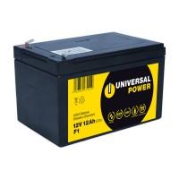 Universal Power AGM UPS12-12 F1 12V 12Ah AGM Batterie USV Akku wartungsfrei Anschluss F1