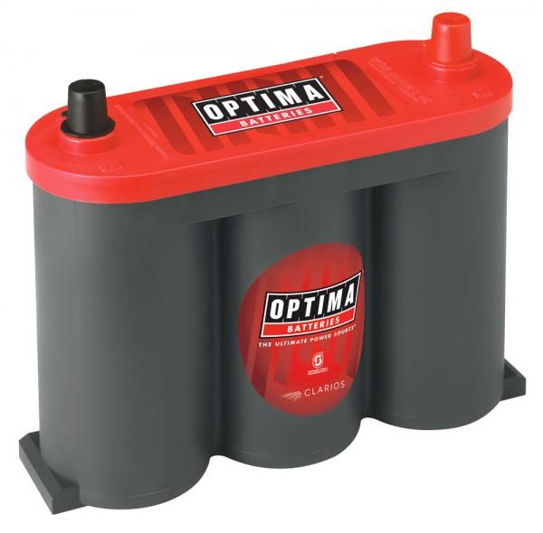 Optima Red Top RT S - 2.1, 6V 50Ah, AGM Starterbatterie, Spiralcell Technologie