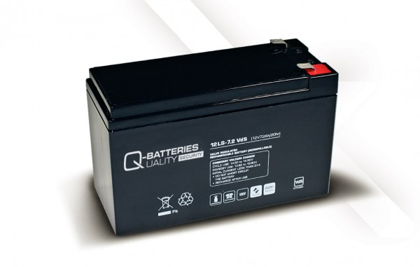 Ersatzakku für APC Back-UPS BK300MICW RBC2 RBC 2 / Markenakku mit VdS