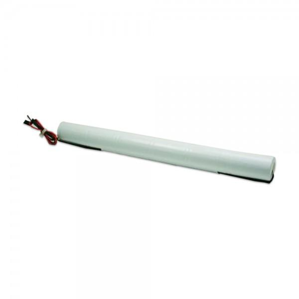 Akku Pack 7,2V 4000mAh für Notbeleuchtung Stab NiCd L6x1 6xD-Hochtemperaturzellen Kabel