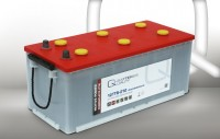 Q-Batteries 12TTB-210 12V 210Ah (C20) geschlossene Blockbatterie, positive Röhrchenplatte