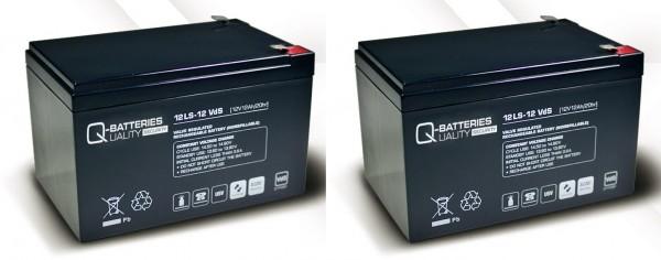 Ersatzakku für APC Smart-UPS SU1000RMI RBC6 RBC 6 / Markenakku mit VdS
