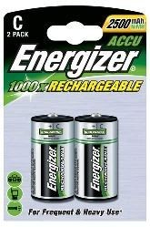 Energizer Akku Baby 2500mAh C (2er Blister)