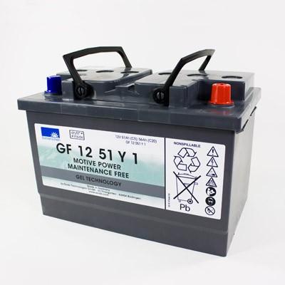 Exide Sonnenschein GF 12 051 Y 1 dryfit Blei Gel Antriebsbatterie 12V 51Ah (5h) VRLA