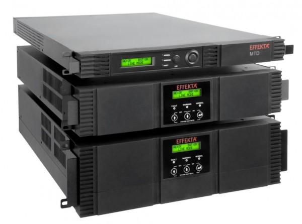 Effekta MTD 700 RM Line-interactive USV 700VA 438W 1HE