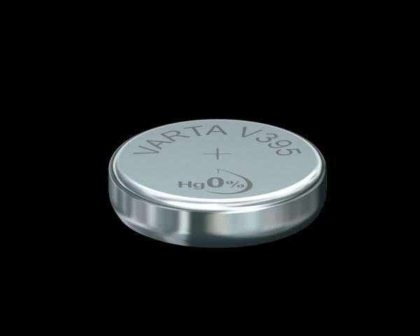 Varta Watch V395 SR57 1,55 V Uhrenbatterie 42mAh (1er Blister)
