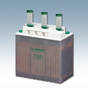 Hoppecke 6 OPzS bloc sun power/ solar.power 400 6V 400Ah (C10) geschlossene Bleibatterie