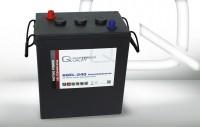 Q-Batteries 6GEL-240 Antriebsbatterie 6V 240Ah (5h) 292Ah(20h) wartungsfreier Gel-Akku VRLA