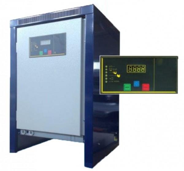 Q-Batteries Gabelstapler- Ladegerät 50Hz 24V 80A 3-phasig ohne Netz- und Batteriestecker
