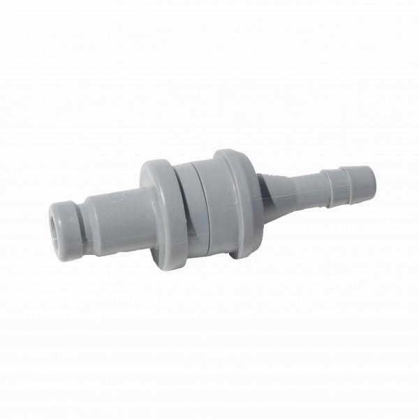Aquamatik Wasserstecker 6mm grau