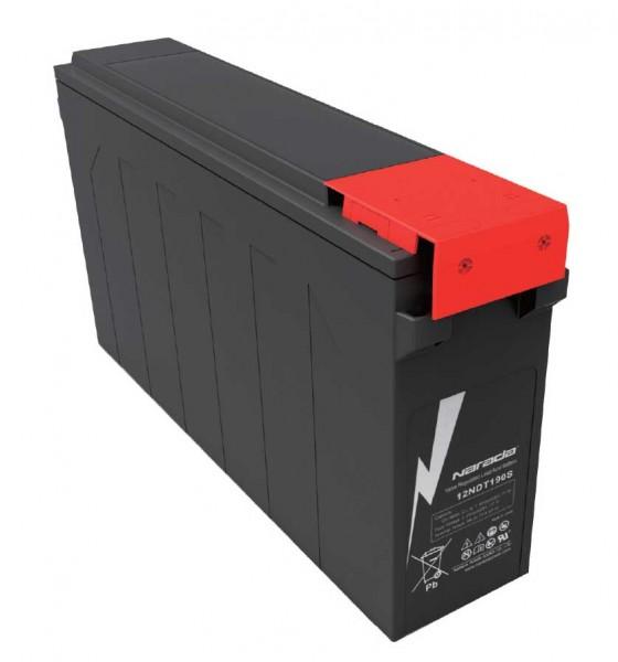 Q-Batteries by Narada 12LFT-190 / 12V 190Ah Frontterminal Blei Akku / Blei-Vlies-Akku VRLA 12 - 190F