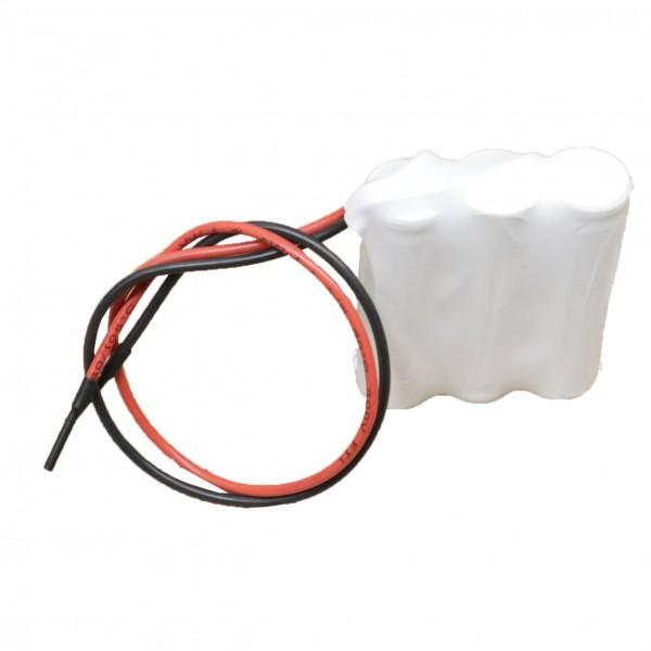 Akku Pack 3,6V 800mAh für Notbeleuchtung NiCd F3x1 3xAA Kabel